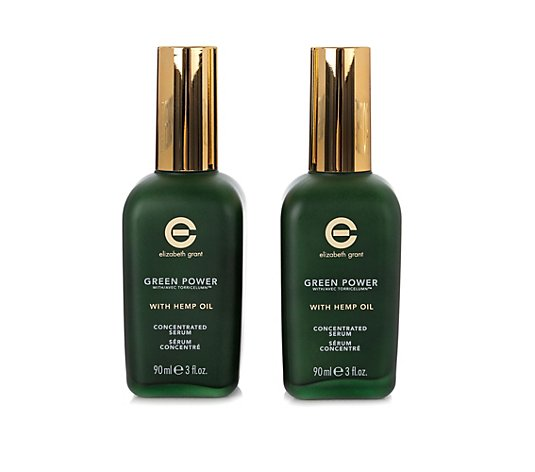ELIZABETH GRANT Green Power mit Hanföl Concentrated Serum 2x 90ml