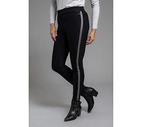 THOM by Thomas Rath Designermode Jeggings Galonstreifen Logodetail - 205088