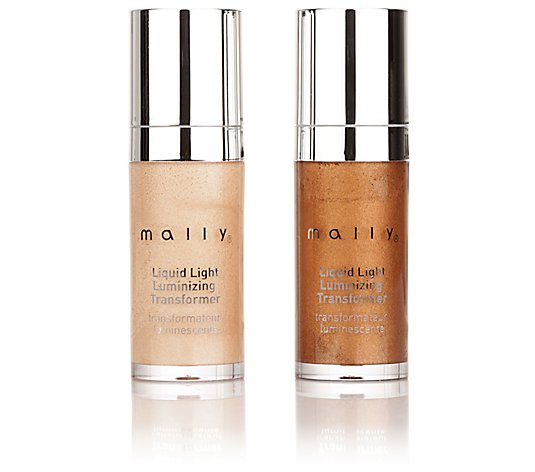 MALLY BEAUTY Liquid Light Luminizing Highlighter-Duo je 10,7ml