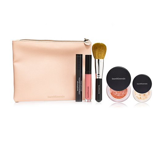bareMinerals® Make-up-Set Gifting Collection mit Tasche 6tlg.