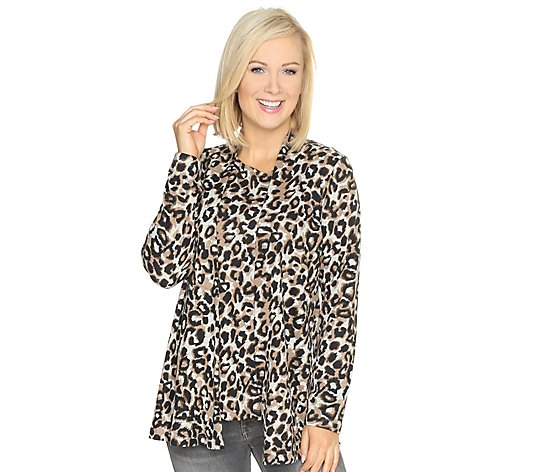 KIM & CO. Soft Touch Twinset Cardigan, 1/1-Arm & Top