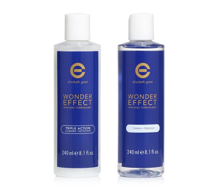 ELIZABETH GRANT Wonder Effect Cleanser & Toner 2x 240ml