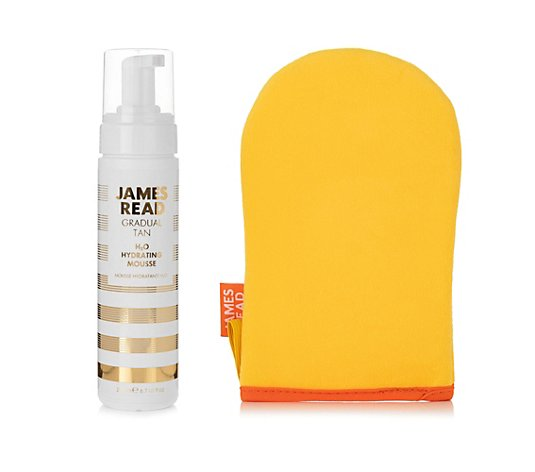 JAMES READ H2O Tan Mousse Selbstbräunungs- Mousse 200ml & Applikator