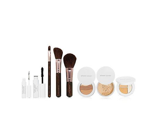 Sheer Cover Studio Make Up Set 5 Tlg
