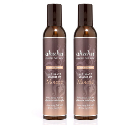ahuhu organic haircare Volume up Mousse Duo je 300ml