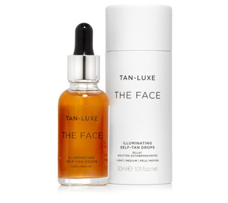 TAN-LUXE Illuminating Self-Tan Serum für das Gesicht 30ml
