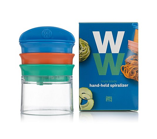 WW® ehemals Weight Watchers hand-held spiralizer Gemüse- Spiralschneider
