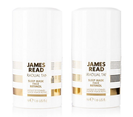 JAMES READ Sleep Mask Face mit Retinol Duo je 50ml