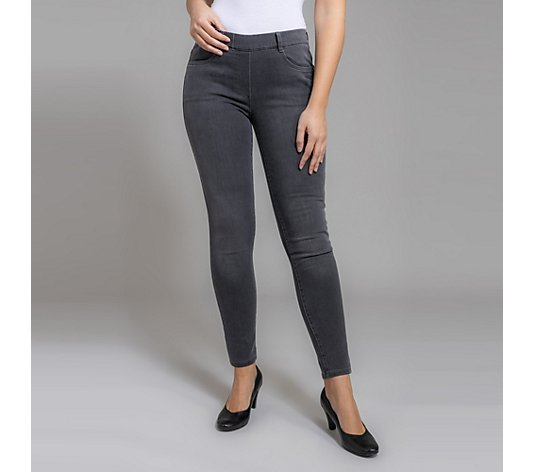 VIA MILANO Jeggings Vaia Rundumdehnbund 4-Pocket-Style Stretch-Denim