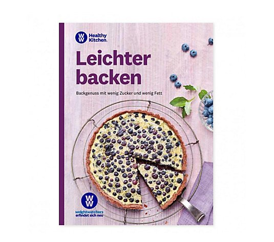 WW® ehemals Weight Watchers Kochbuch Leichter Backen 45 Rezepten