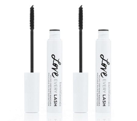 bareMinerals® Love every Lash Micro Mascara-Duo in schwarz je 8ml