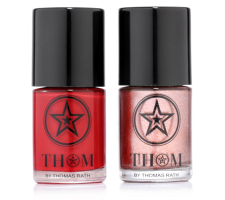 THOM by Thomas Rath Make-up Nail Polish 2x 10ml