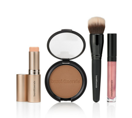 bareMinerals® Sunkissed Glow Make-up-Set mit Complexion Rescue Foundation Stick