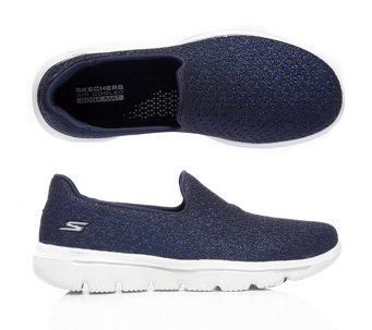 23d422bb30e9b5 SKECHERS Damenslipper Gowalk Evolution Glitzer-Optik GoGa Mat Technologie -  317800