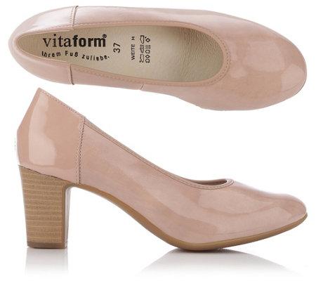 VITAFORM Elegance Pumps Stretch & Lackleder Absatz ca. 5,5cm