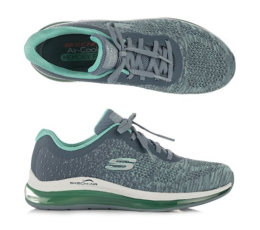SKECHERS Damen-Sneaker Skech Air-Element 2.0 Mesh Melange-Effekt