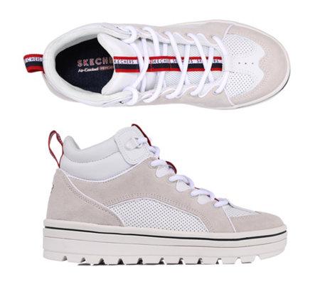 SKECHERS Damen Sneaker Street Cleats 2 Kunstleder Memory Foam —