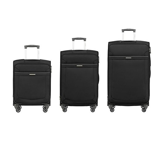 SAMSONITE Trolley Anafi 3tlg.Set 4 Rollen TSA Schloss
