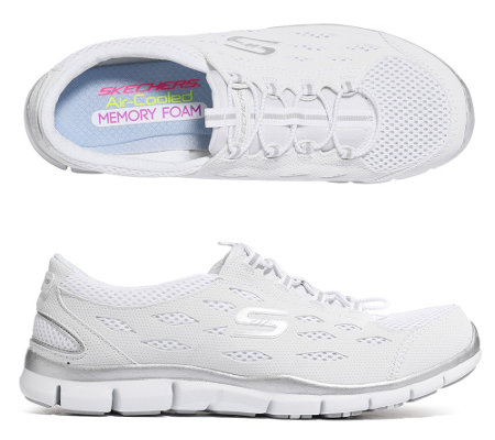 SKECHERS Damensneaker Gratis Going Places Textil Memory Foam —