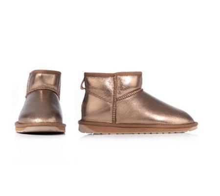 Stiefel EMU Australia NEU Gr. 39 schwarz Leder Boots Bootie