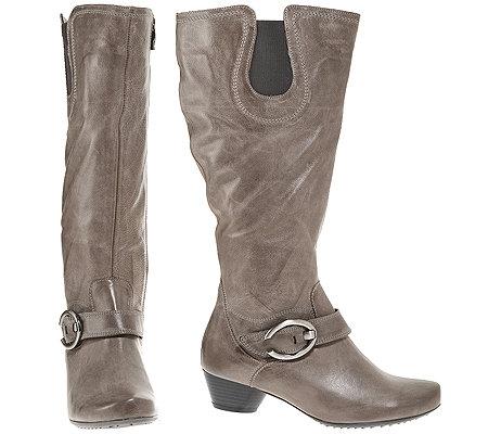 new styles b6eb3 99cc7 ARA Damen-Stiefel echt Leder H-Weite Absatz ca. 4cm — QVC.de