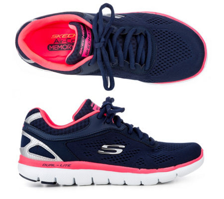high fashion best selling cute cheap SKECHERS Damen-Sneaker Flex 2.0 Memory Foam exklusives Modell — QVC.de