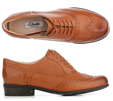 abwechslungsreiche neueste Designs 50% Preis Outlet-Store CLARKS® Hamble Oak Damenhalbschuh echt Leder Budapester-Lochung — QVC.de