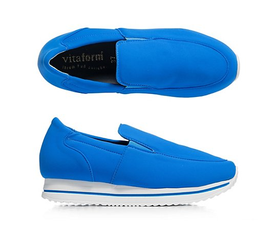 VITAFORM Damen-Slipper Vitaform Stretch Neoprenoptik Shock-Absorber
