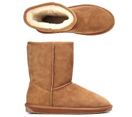 brand new 6dc00 c4c32 EMU Australia Damen-Boots Stinger Lo Veloursleder echt Lammfell — QVC.de