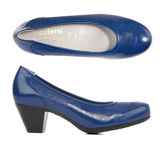 VITAFORM Elegance Pumps Lackstretch Leder Futter 4,5cm Absatz