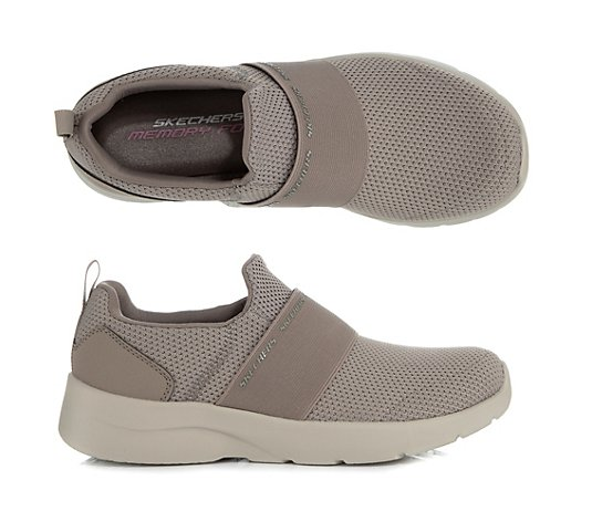 SKECHERS Damen-Slipper Dynamight 2.0 Textil Memory Foam