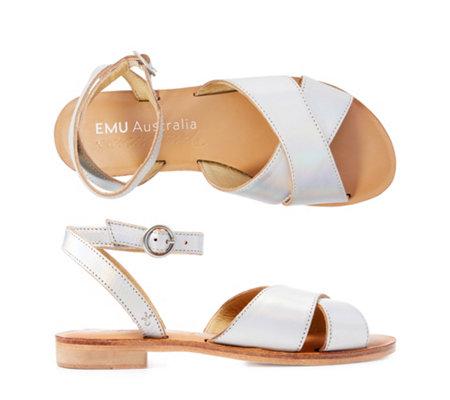 01ba7ddd1e89bc EMU Australia Banrock Damen-Sandale echt Leder Riemen verstellbar ...
