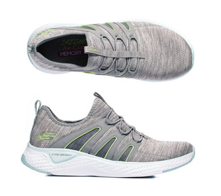 cheapest price best value best sneakers SKECHERS Damen-Sneaker Solar Fuse Bungeeschnürung Memory Foam — QVC.de