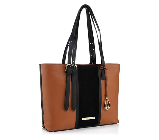 AMANDA WAKELEY Shopper The East-West echt Leder Reißverschluss