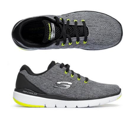 separation shoes 5f013 eadc3 SKECHERS Herren-Sneaker Flex Advantage 3.0 Textil&Mesh Memory Foam — QVC.de