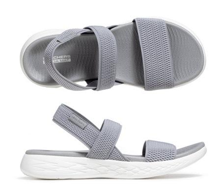 SKECHERS Damen Sandale On the GO 600 Textil Goga Mat Technologie —