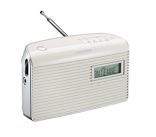 GRUNDIG Digitalradio UKW, DAB/DAB+ Empfang, mit Display, tragbar