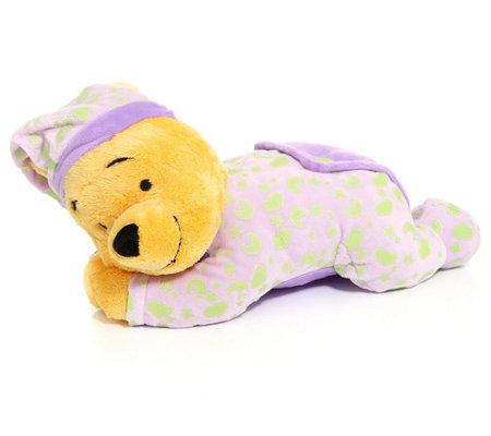 DISNEY Winnie Pooh Gute Nacht Bär mit Leuchtsymbolen ca. 32cm lang — QVC.de
