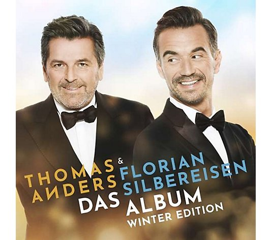 THOMAS ANDERS & FLORIAN SILBEREISEN Doppel-CD Winter-Edition 31 Titel, ca. 112min