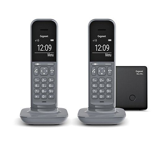 GIGASET DECT-Telefon Duo Freisprechfunktion Anrufbeantworter Made in Germany