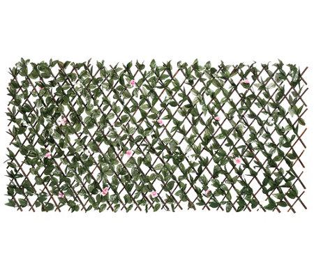 Garten Chic Nature Art Gartenzaun Ausziehbar Ca 100x200cm Page 1
