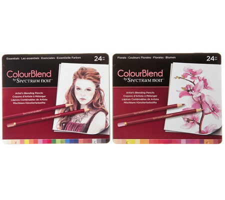 CRAFTER'S COMPANION Kreativ-Set Spectrum Noir Colourblend Stift 48tlg.