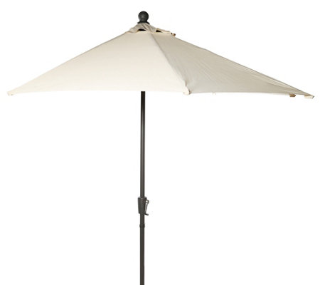 green lounge sonnenschirm halbrund aluminium polyester uv 50 270cm page 1. Black Bedroom Furniture Sets. Home Design Ideas