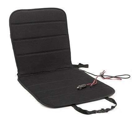 pkw sitzauflage inkl heizfunktion adapter f r. Black Bedroom Furniture Sets. Home Design Ideas