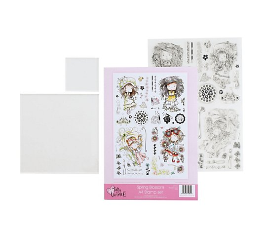 CREATE AND CRAFT Tatty Twinkle Stempel-Set inkl. Acrylblöcke 3tlg.