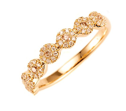 ROYAL COGNAC Ring 63 Brillanten zus. ca. 0,25ct Gold 585