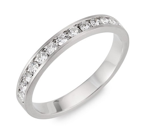 PLATINITY Ring 13 Brillanten zus. ca. 0,50ct Platin 950