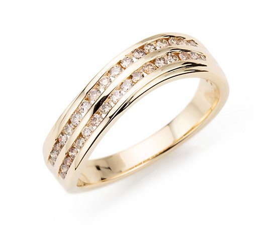 ARGYLE Ring 34 Brillanten zus. ca. 0,33ct Gold 585