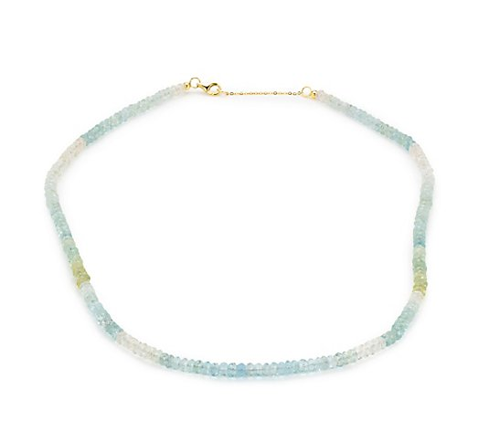 ROYELLE Berylle multicolor Collier zus. ca. 45,00ct Gold 585
