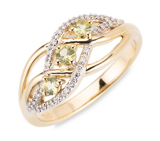 JEPARA Pallavin Ring zus. ca. 0,18ct Brillanten ca. 0,07ct Gold 585